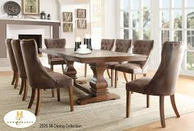 contemporary formal dining set