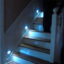 staircases lights and led stair lights on pinterest automatic led stair lighting