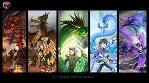 ArtStation - Dragon Tamers, denii arts