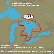 Lake Huron Water Levels Historical Chart Details About C Map Max N Lake Huron Georgian Bay Charts Sport Fishing Data Aerial Photos