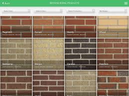 Boral Brick Chart Myboral Brick Designer By Boral Industries Inc