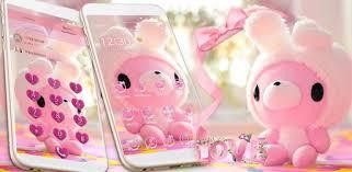 <b>Cute Bear</b> Theme Pink Bow <b>Bear</b> - Apps on Google Play