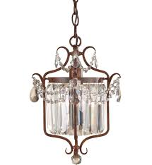 feiss gianna 10 5 inch mini chandelier gallery 9 of 15
