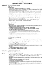 managing editor resume managing editor resume samples velvet jobs
