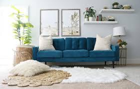 Modern Ranch Reno: Master Bedroom Sofa - Classy Clutter