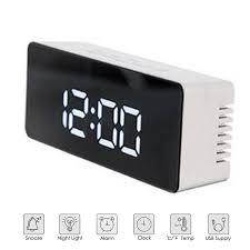 clock radio Decorative Clocks <b>Creative LED Digital Alarm</b> Clock ...