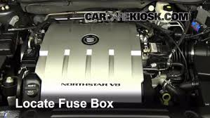 replace a fuse 2006 2011 cadillac dts 2006 cadillac dts 4 6l v8 2007 Cadillac DTS Interior 2007 Cadillac Dts Fuse Box Diagram #42