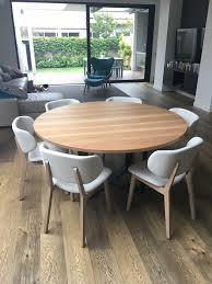 round timber dining tables australia lumber furniture incredible round timber dining table