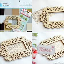 check out how to make this fun and easy handmade framed saying ornament made with