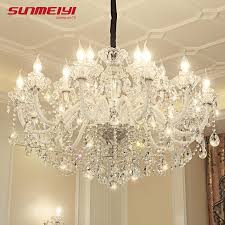 luxury led crystal chandeliers lighting re cristal for living room bedroom hotel lampadario led modern large chandeliers modern chandeliers chandelier