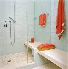 bathroom contemporary glass tile mosaic tile floor bathroom idea in san francisco