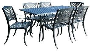 houzz outdoor furniture. Houzz Outdoor Dining Furniture Shop 7 Piece Cast Aluminum Set Sale