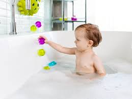 boon s new jellies are engaging toys that stick right to the bathtub wall in a way that will delight your toddler these tiny and adorable jellyfish from
