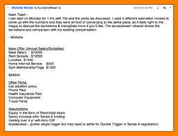 Salary Negotiation Email 6 Salary Negotiation Email Example Activo Holidays