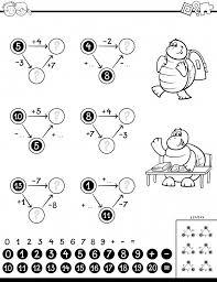 Gioco Educativo Di Calcolo Per Libro A Colori Per Bambini