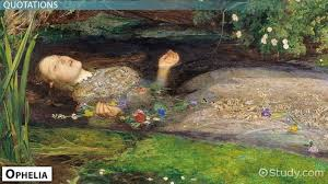 shakespeare s ophelia character quotes video lesson  shakespeare s ophelia character quotes video lesson transcript com