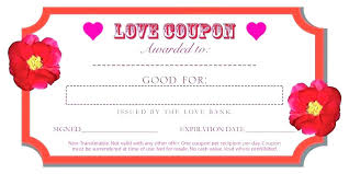 Free Editable Love Coupon Template Zoom Coupons For Him Customizable