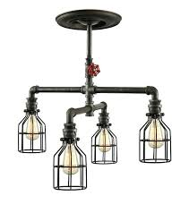 awesome how to make pipe light fixture with pipe light fixture in steampunk industrial ceiling inspirations
