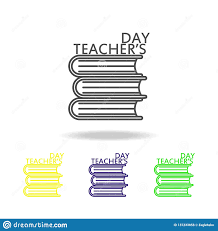 Symbol For Teacher Happy Teachers Day Education Symbol Sign Pictogram Can Be Used For