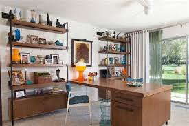 mid century modern home office. 20 Mid Century Modern Home Office Designs, Decorating R