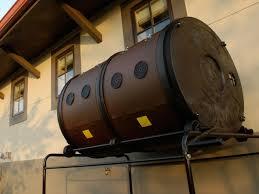 garden compost barrels