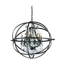 troy lighting modern crystal orb pendant chandelier light in bronze finish f2997 hover or to zoom