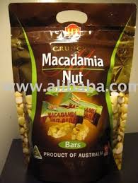 crunchy macadamia nut bars 400grams gift