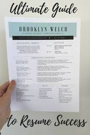 Resume Tips Tips To Perfect Your Resume And Land Your