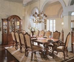 Universal Villa Cortina 9Pc Dining Room - Wayside Furniture ...