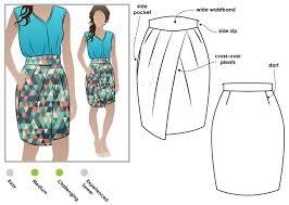 Skirt Pattern Amazing Emily Skirt Style Arc