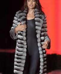 irina hayk chinchilla fur coat