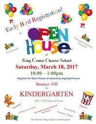 Bounce Off To Kindergarten Open House King Center Charter School
