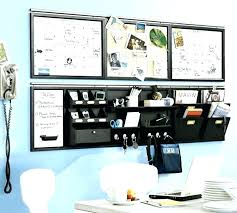 wall mounted office. Wall Hanging Office Organizer Mount Mounted System L