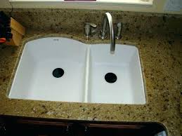 how to clean a granite composite sink cleaning graphite sinks pros cons white undermount kitchen composit granite composite sinks a3