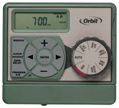 Small Picture Orbit Sprinkler Timer 6 Zone Station indoor Water Irrigation