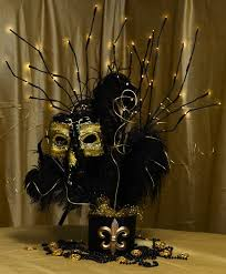 Masquerade Mask Table Decorations mardi gras party centerpieces element to the centerpiece and 53