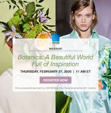 Illuminating is a sunshine yellow. Webinar In Line With Blooms Of Brilliant And Stunning Floral Hues Pantone Webinar Botanica Spring Summer 2021 Color Trends February 27 2020 Anino
