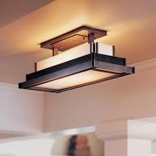 image of flush mount light fixtures kitchen
