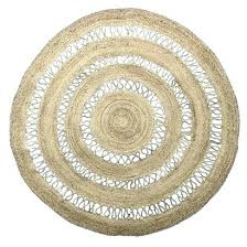 round rug jute natural black circle small square rugs super cool and white nice ideas bath