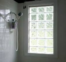 glass block window in shower unthinkable patterns and designs blocks help provide added privacy for decorating