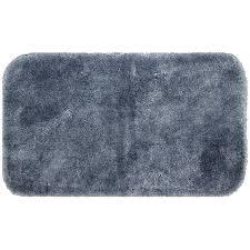 mohawk home spa 2 x 5 bath rug in slate