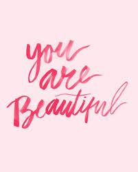U Are Beautiful Quotes