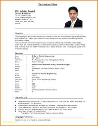 Resume Templates Doc Download Free Download Cv Format For Jobs