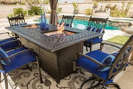 patio furniture and fire pits for your backyard fun