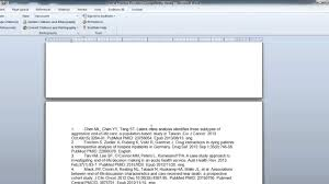 Endnotes References Inserting Deleting Citations With Endnote