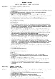 housekeeping resume templates executive housekeeper resume samples velvet jobs