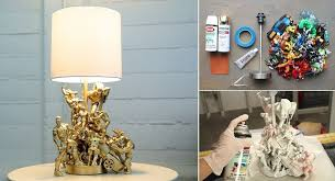 DIY Action Figure Table Lamp : Tutorial & Video - table-lamps