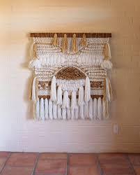 Farrin O Connor Design Studio Wall Hanging Fiber Art Tapestry Weaving Weaving Hand