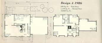 Vintage Home Plans Gambrel 1986a  Antique Alter EgoGambrel Roof House Floor Plans