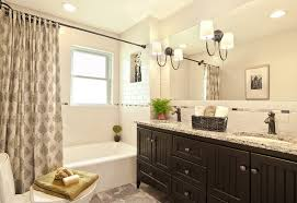 white shower curtain bathroom. Black And White Shower Curtain Bathroom Traditional With Large Mirror Patterned Shower. Image By: Decorating Den Interiors- Corporate Headquarters